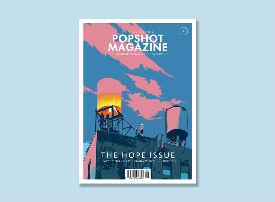freelance copywriting work for Popshot Magazine